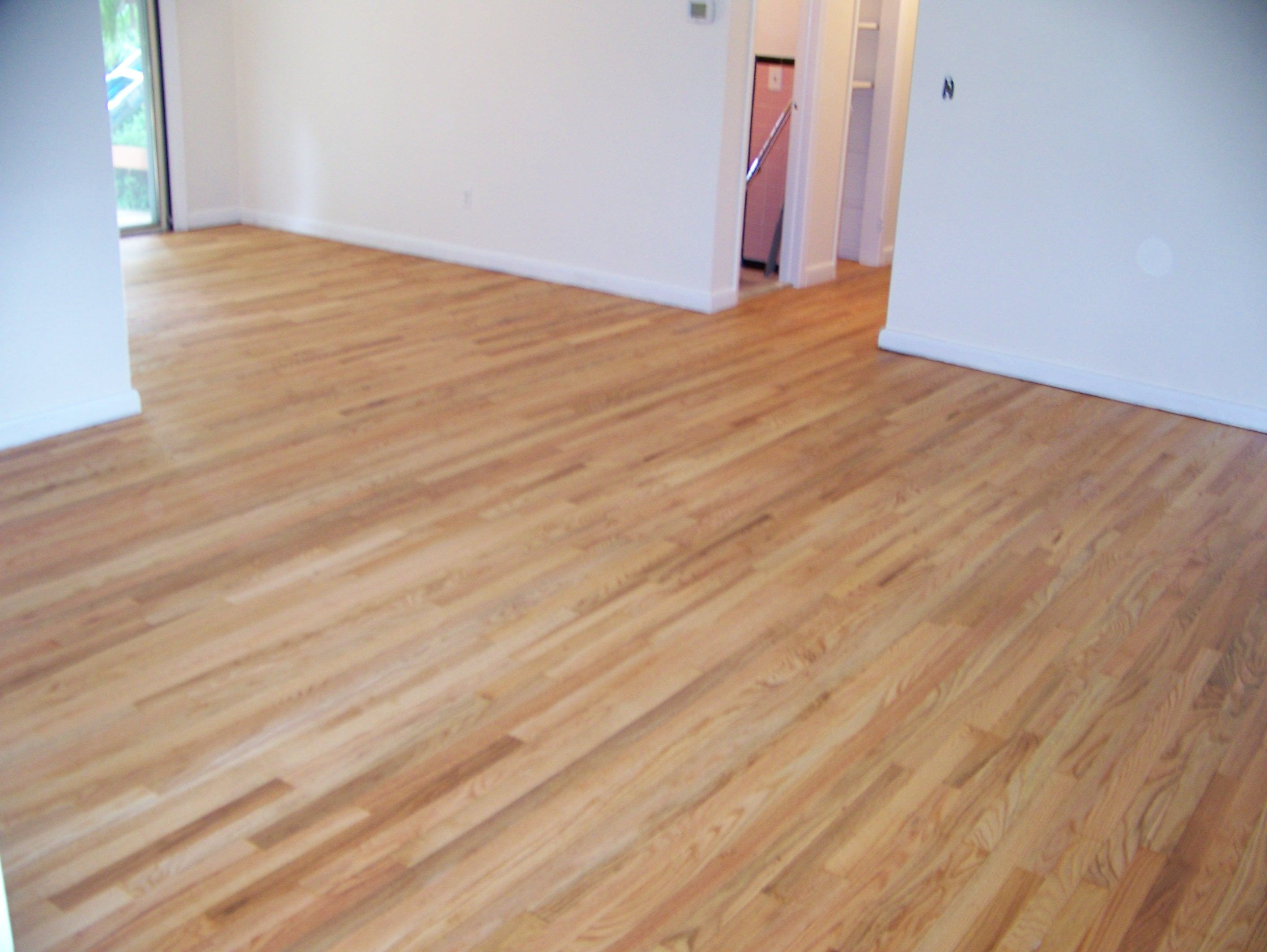 wood floors installed