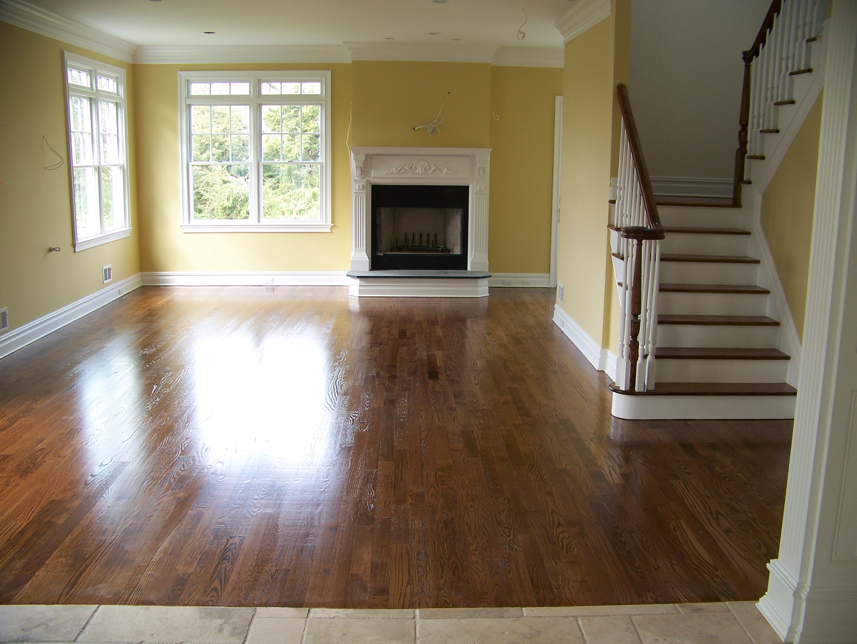 refinish wood floor