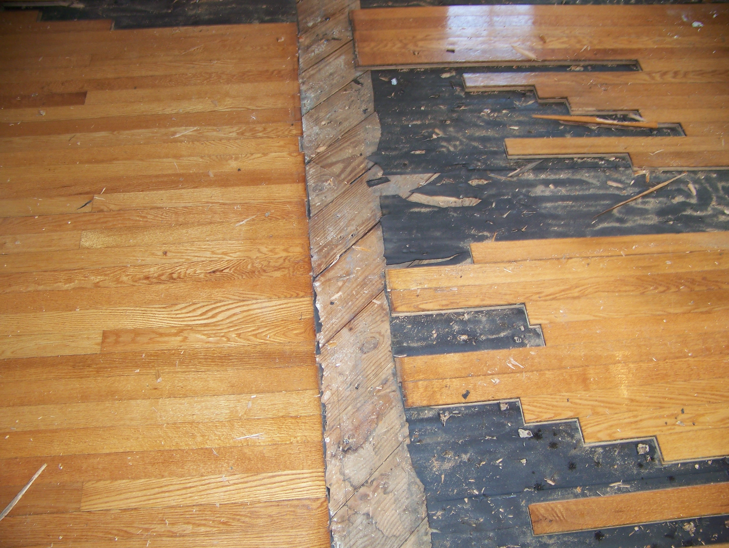 install wood floors