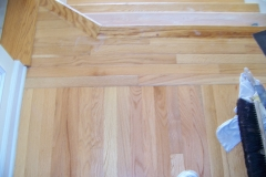 stain wood floor