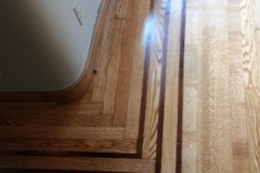 wood floor finish repair